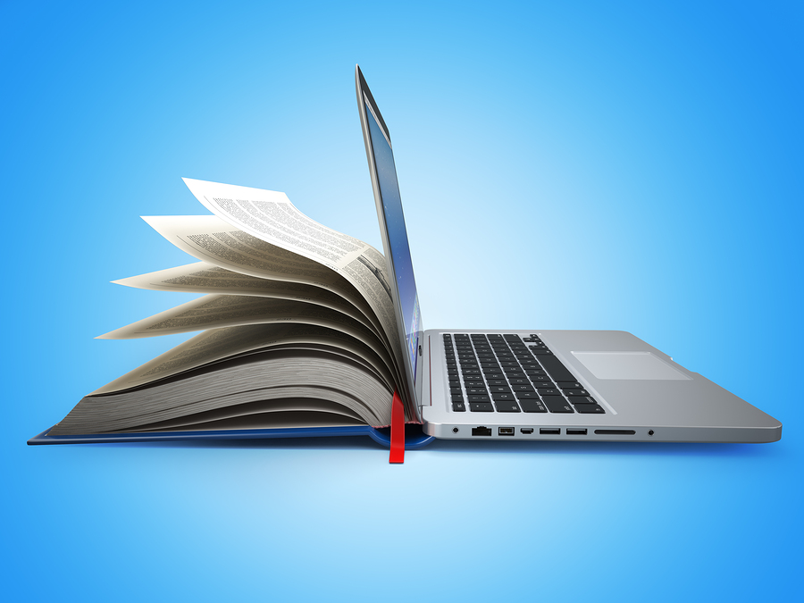 maxxyustas. (n.d.). E-learning, Concept of education, Internet labrary, Book and Laptop. 3d [Image]. Bigstock.com. Retrieved from http://www.bigstockphoto.com/image-95422349/stock-photo-e-learning-concept-of-education-internet-labrary-book-and-laptop-3d