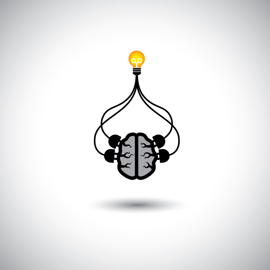 smarnad. (n.d.). icon of bulb & brain connected [Image]. Bigstock.com. Retrieved from http://www.bigstockphoto.com/image-59914997/stock-vector-icon-of-bulb-%26-brain-connected-vector-concept-of-idea-creation
