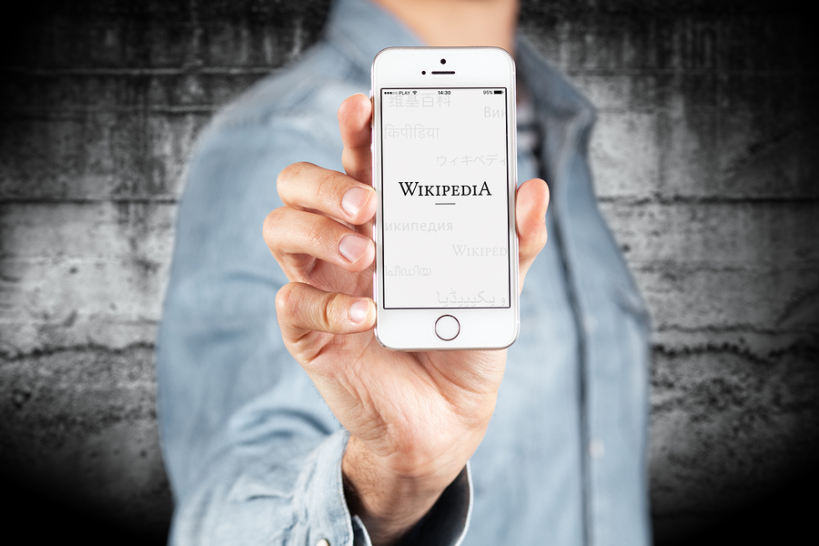 George D. (n.d.). WROCLAW, POLAND - APRIL 12, 2016: Apple iPhone SE smartphone with Wikipedia app on screen [Image]. Bigstock.com. Retrieved from: http://www.bigstockphoto.com/image-127472372/stock-photo-wroclaw%2C-poland-april-12%2C-2016%3A-apple-iphone-se-smartphone-with-wikipedia-app-on-screen