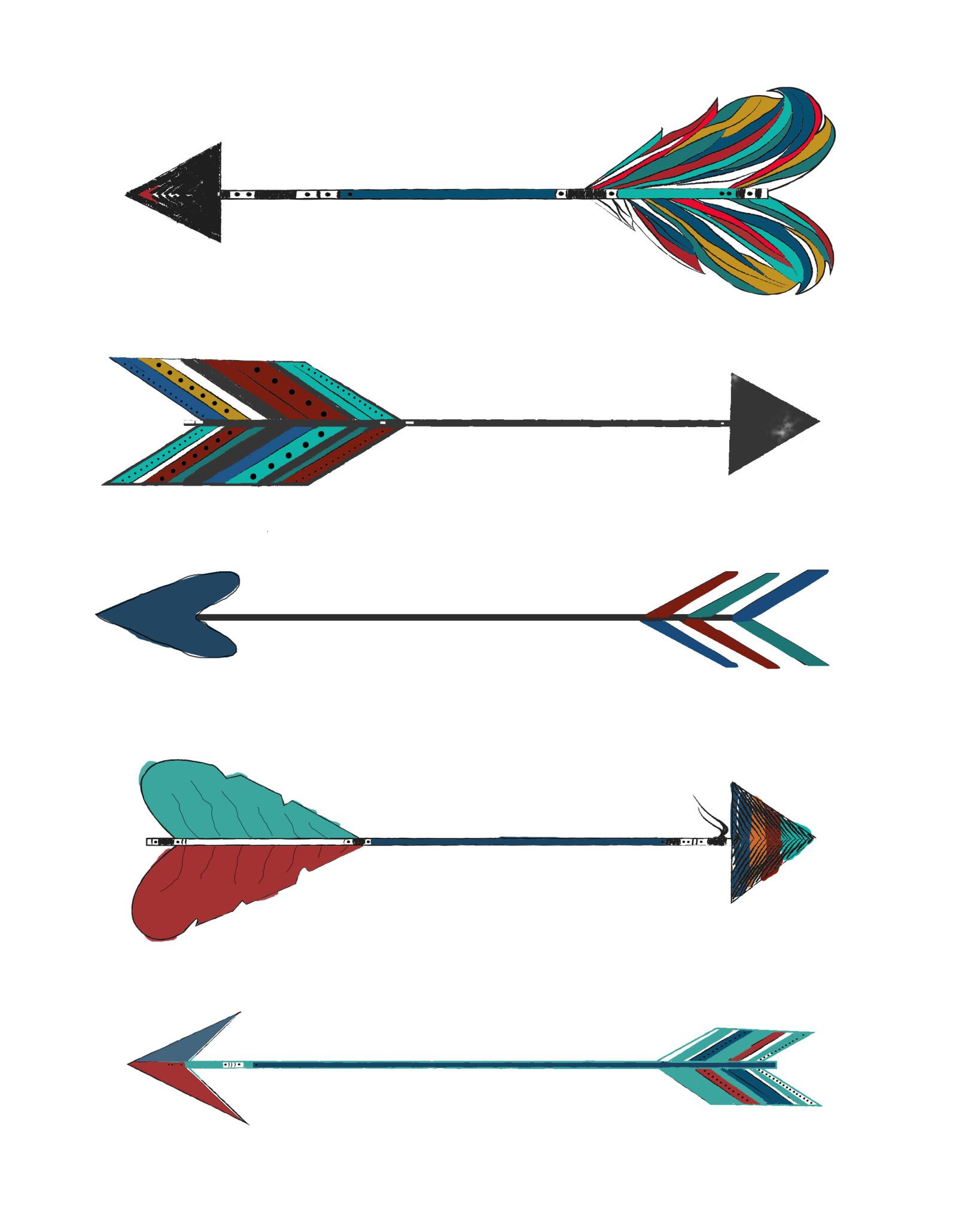 Arrows - 8x10